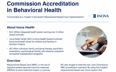 Powered by Owl Insights,® Inova Kellar Center Achieves Joint Commission Accreditation in Behavioral Health